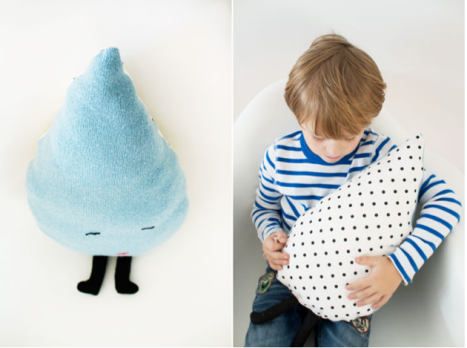 Bloesem Kids Raindrop Pillow