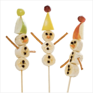 FamilyFun Spoonful Snowman on a stick