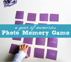 No Time For Flashcards Easy New Years Memory Game