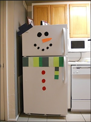 Refrigerator Snowperson Source unfindable