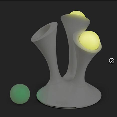 Think Geek Glo Nightlight with Glowing Balls