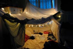 Indoor Fort We Heart It