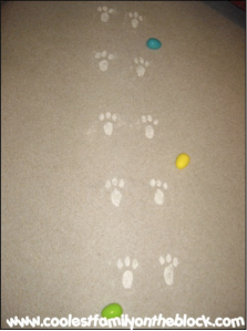 Coolest Family On The Block Easter Bunny Paw Prints