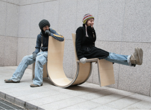 Neulhae Cho Swingers Chair People