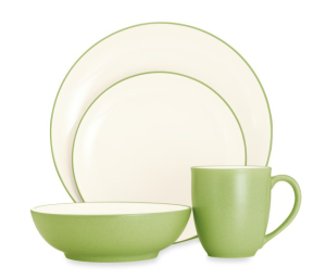 Noritake Colorwave 4 piece Coupe Shaped Place Setting