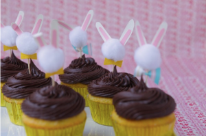 Oh Happy Day Bunny Cupcake Toppers