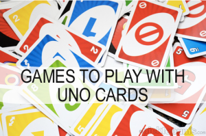 Picklebums Games You Can Play With Uno Cards