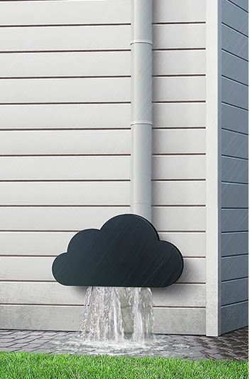 Behance Rain gutter cloud
