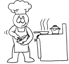 EFL Clipart Cook